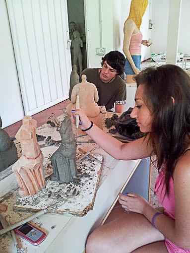 Arte Vacanza - Corso di scultura
